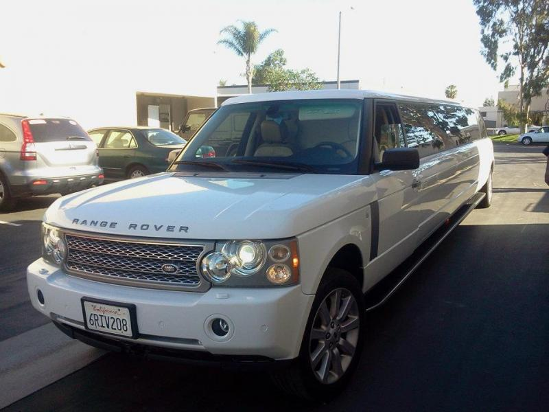 Range Rover Limousine in Los Angeles